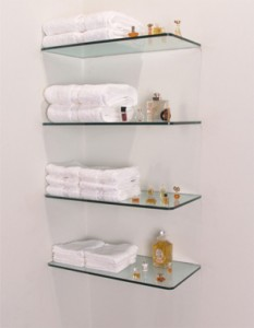 Advantages of Floating Glass Shelves