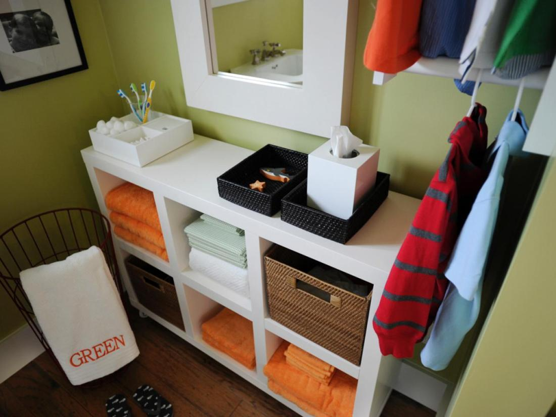 Small Bathroom Storage Solutions